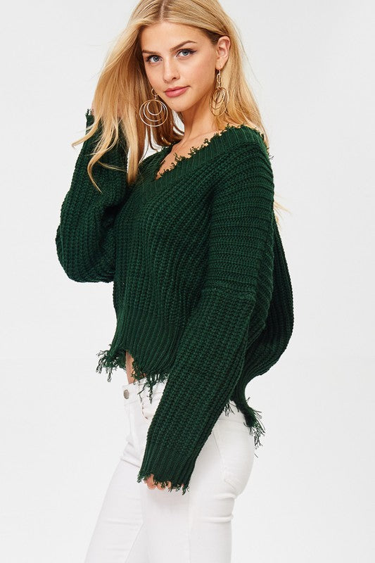 Miller Distressed Sweater (55358455824)