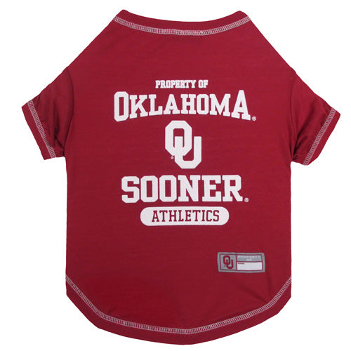 University of Oklahoma Sooners Dog Tee Shirt