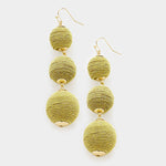 Lily Drop Earrings (9262894864)