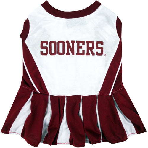University of Oklahoma Sooners Dog Cheerleader Outfit