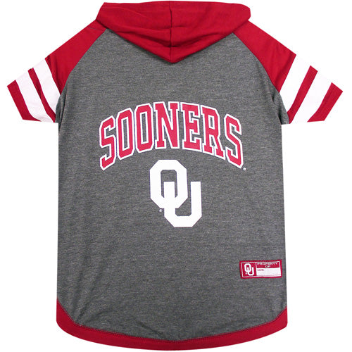 University of Oklahoma Sooners Dog Hoodie T-Shirt (10023508432)