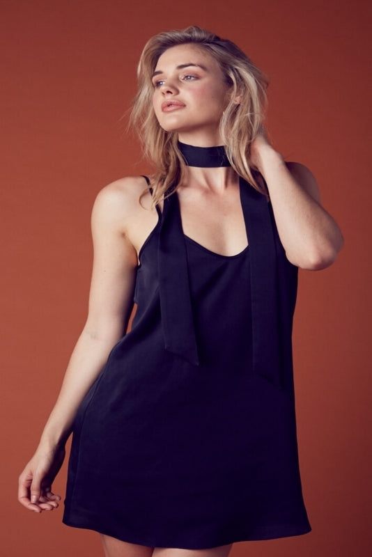 Riley Satin Slip Dress