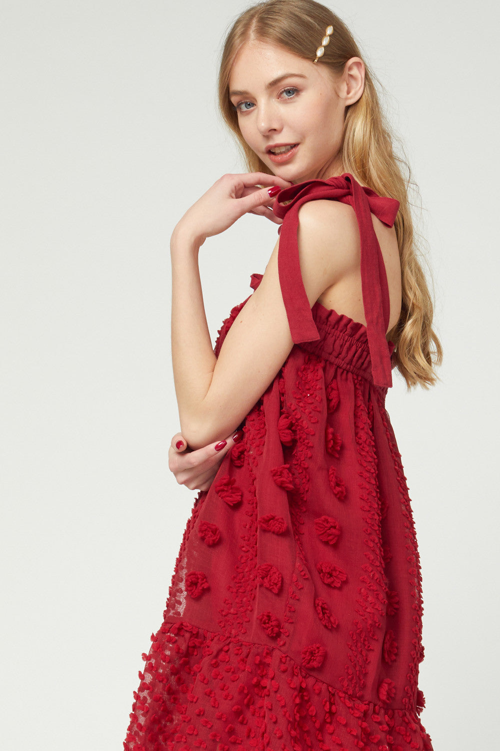 Heart to Heart Red Dress