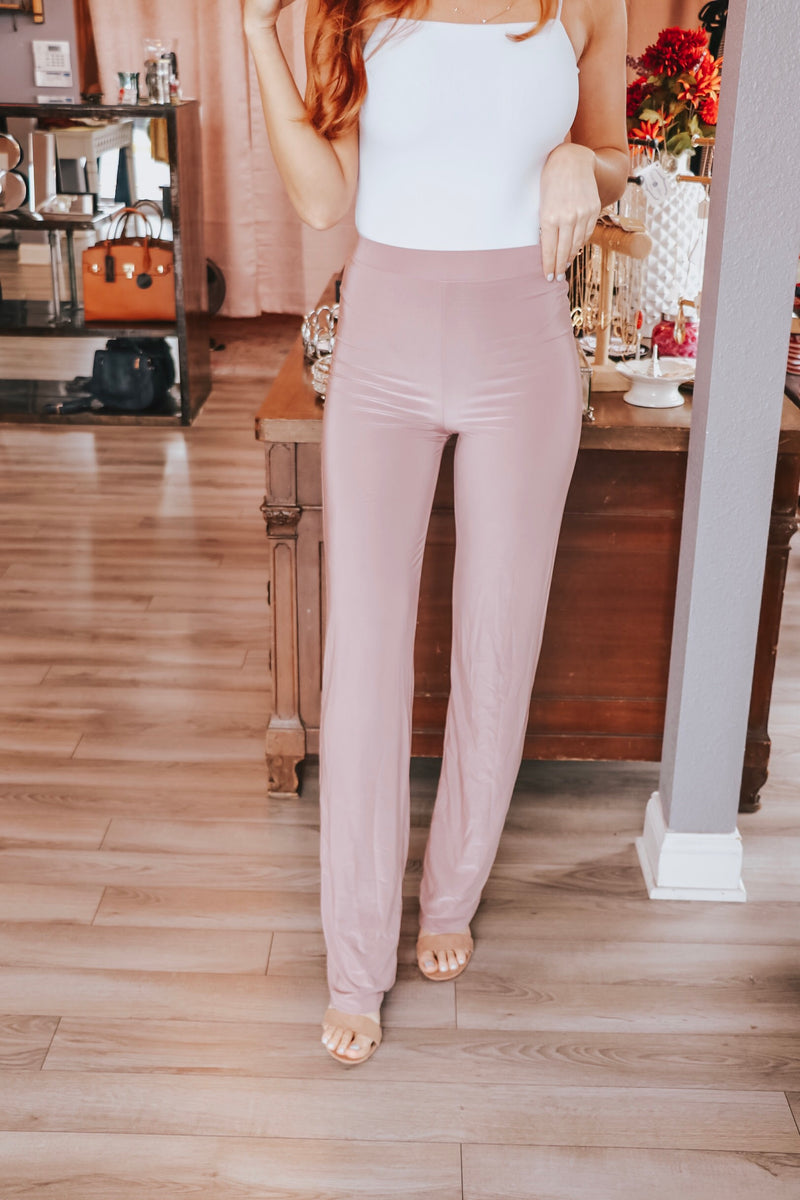 Stassi High Waisted Pants