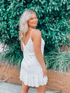 Anywhere With You Swing Dress - White