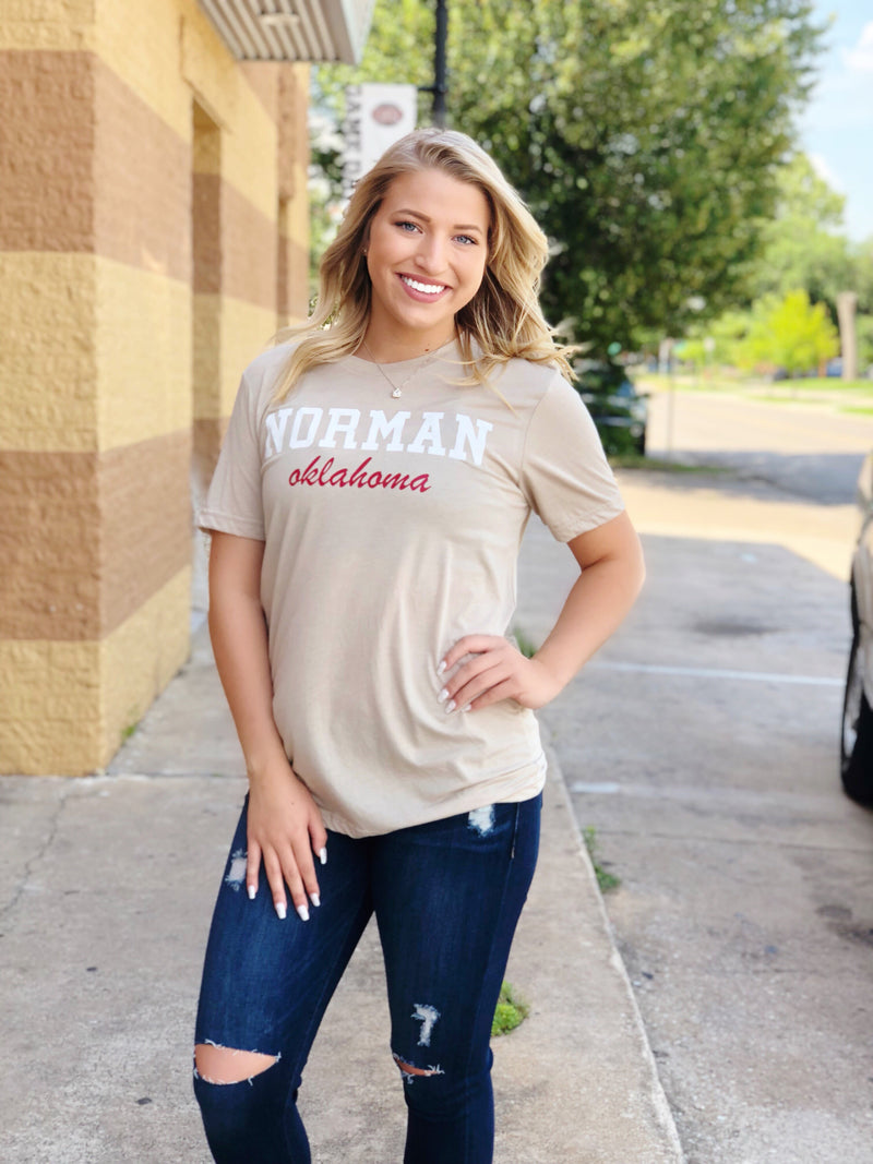 Norman Ok Tee (Tan)
