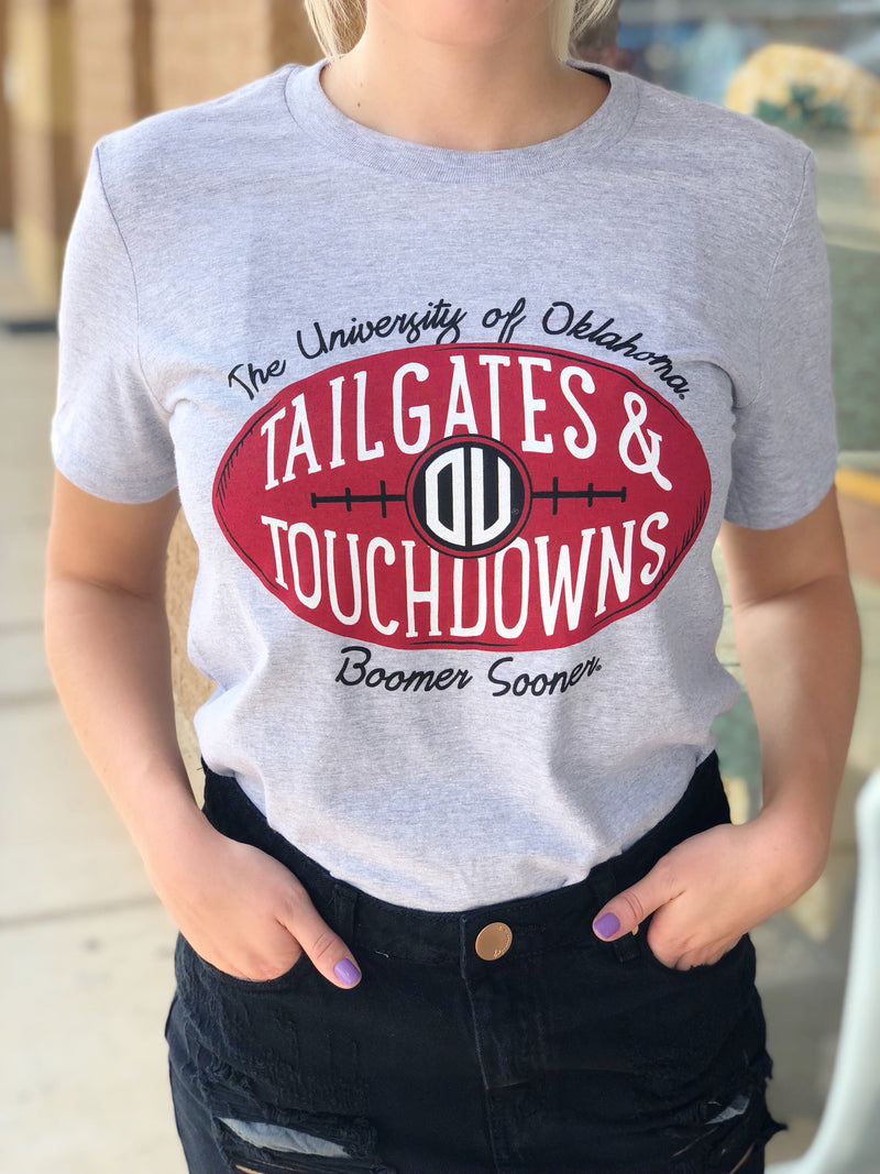 Tailgates and Touchdowns Tee (759825301564)