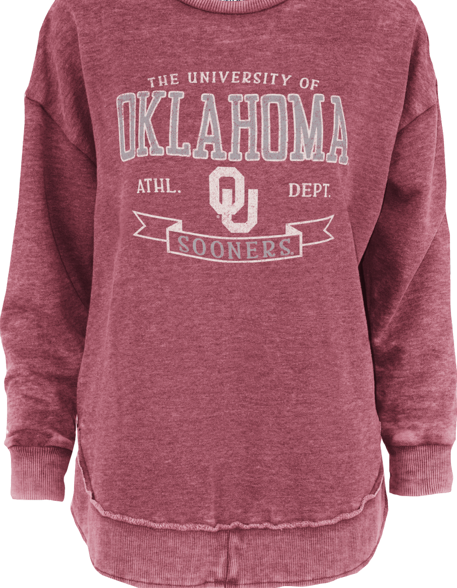 Oklahoma High Low Comfy Fleece