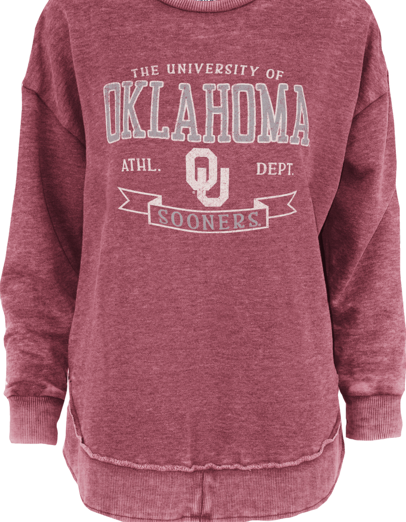 Oklahoma High Low Comfy Fleece (786100420668)