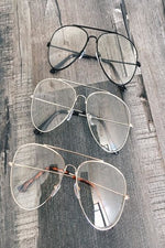 Read Me Clear Aviator Glasses (8572076048)