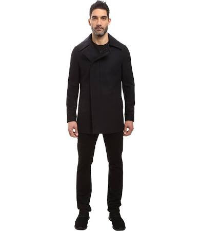 Mauro Single Breasted Wool Coat