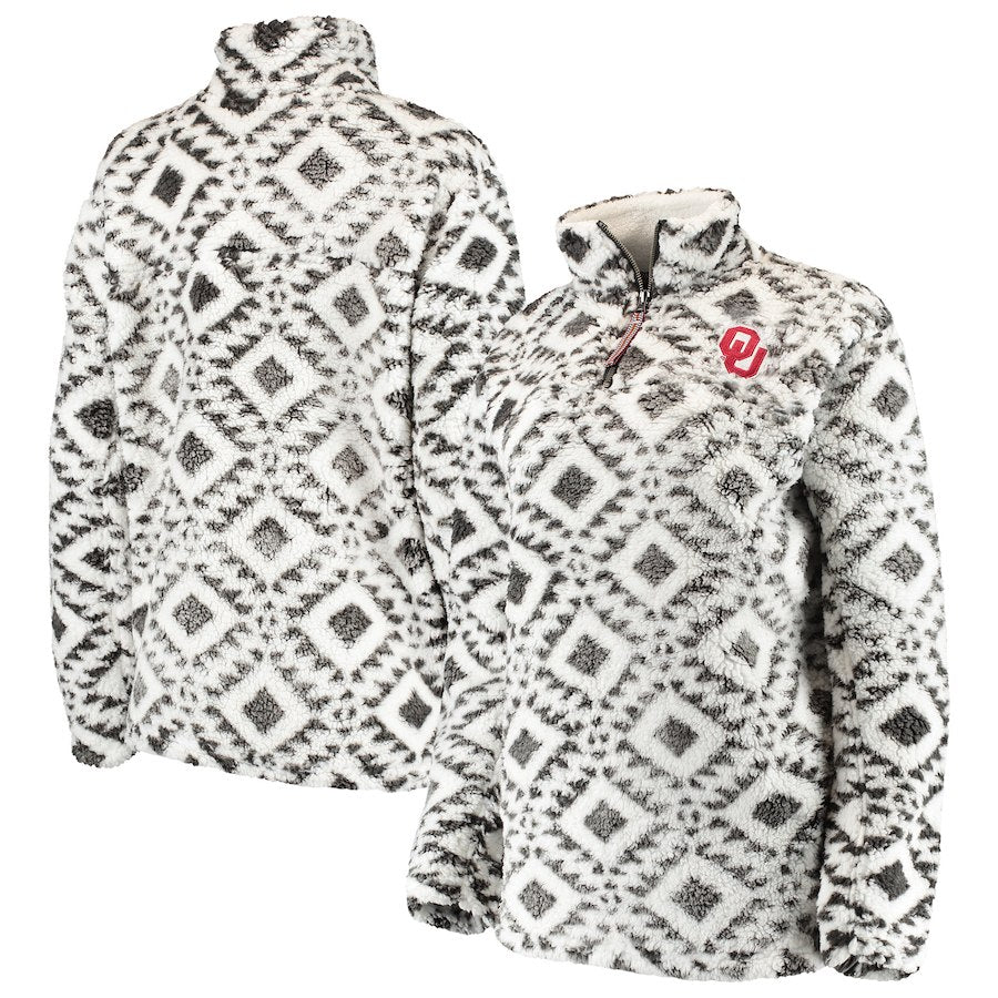 Oklahoma Sooners Tribal Fluff Jacket (826942586940)