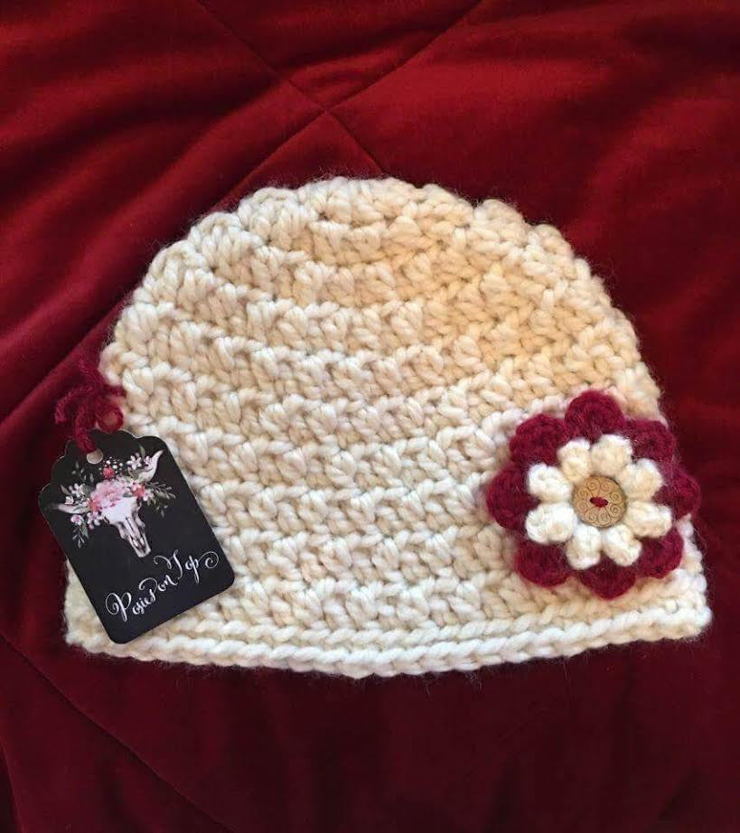 Posies On Top Beanie