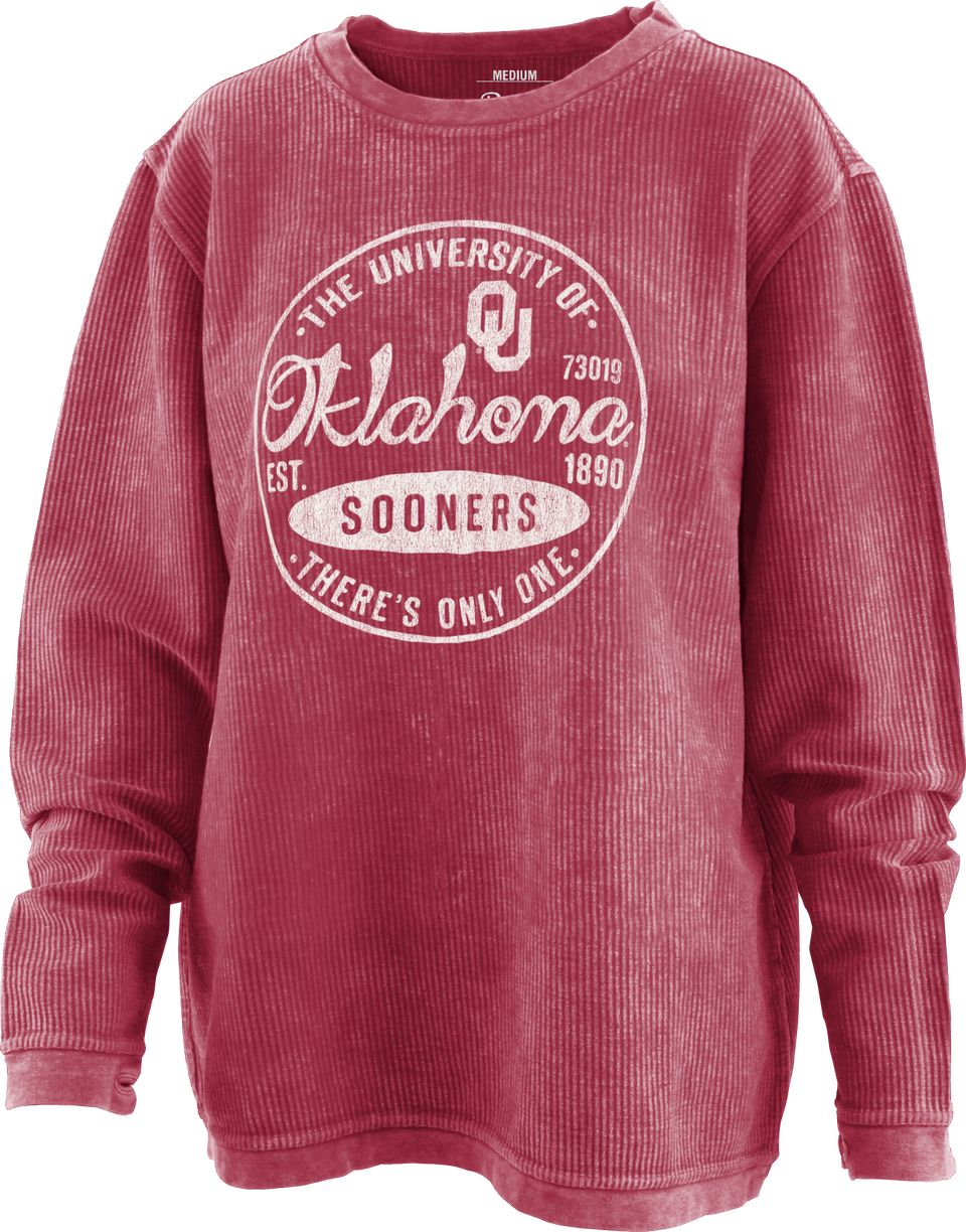 Oklahoma Long Sleeve Comfy Cord