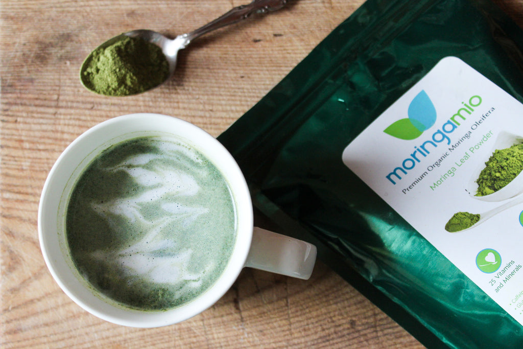 Make This: Coconut Moringa Latte