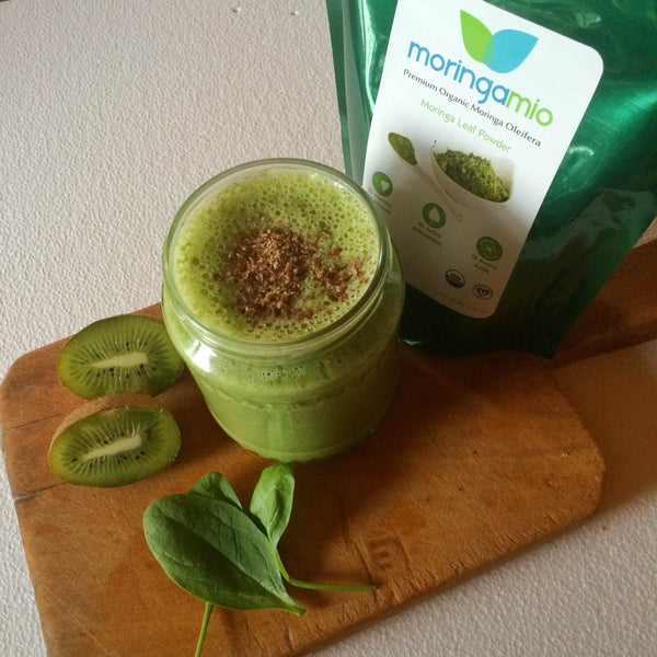 moringa morning smoothie