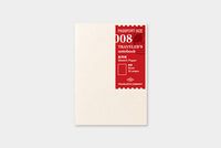 Traveler's - Sketch Paper - Passport Size #008