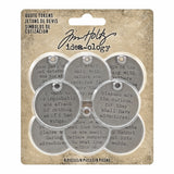 Tim Holtz® Idea-ology | Quote Tokens