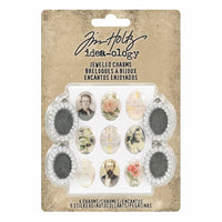 Tim Holtz® Idea-ology | Jeweled Charms