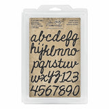 *NEW* Tim Holtz® Idea-ology | Cutout Script - Cling Foam Stamps