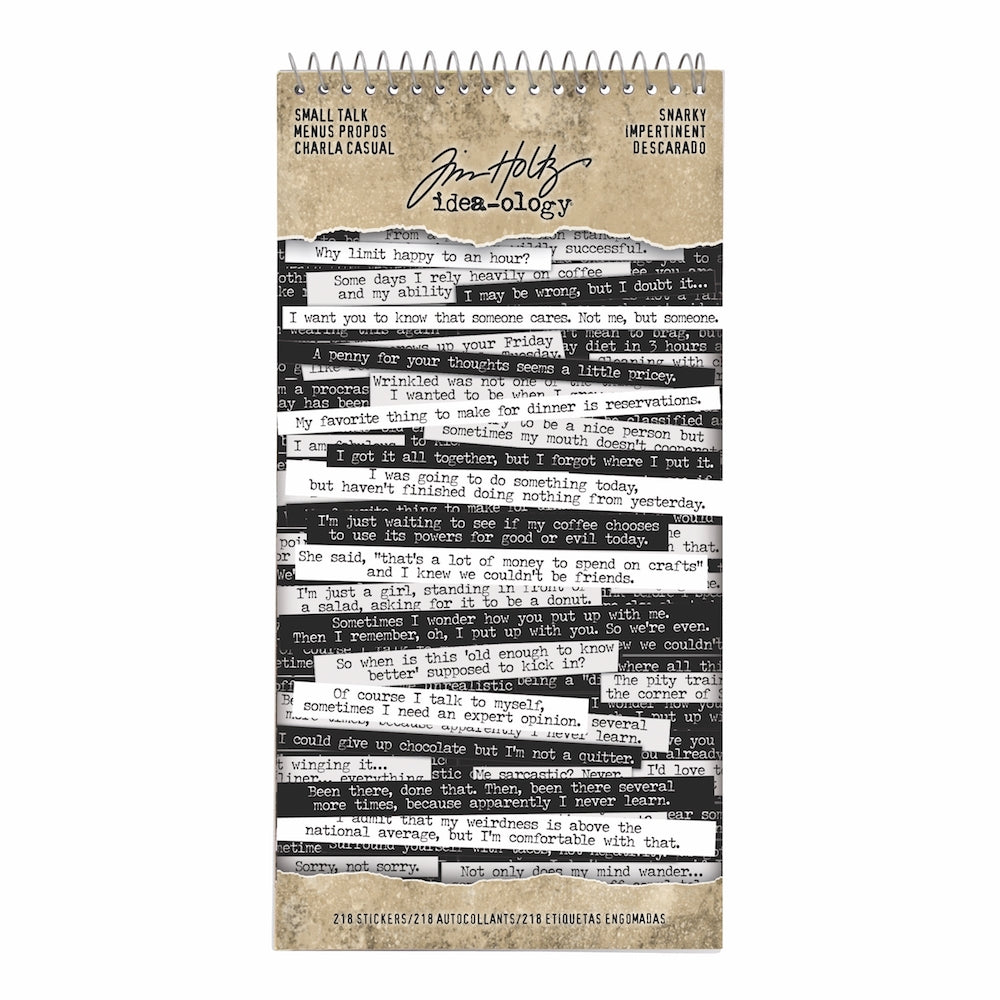 Tim Holtz® Idea-ology | Small Talk - Snarky
