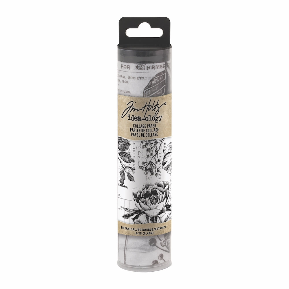 *NEW* Tim Holtz® Idea-ology | Botanical Collage Paper