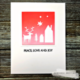 "The ""Nordic Holiday"" Card Kit by Nancy Sheads"