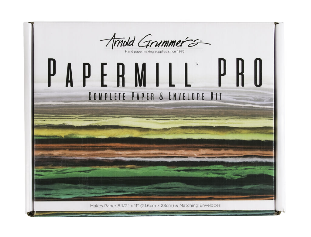 Arnold Grummer's Papermill Pro Papermaking & Envelope Kit