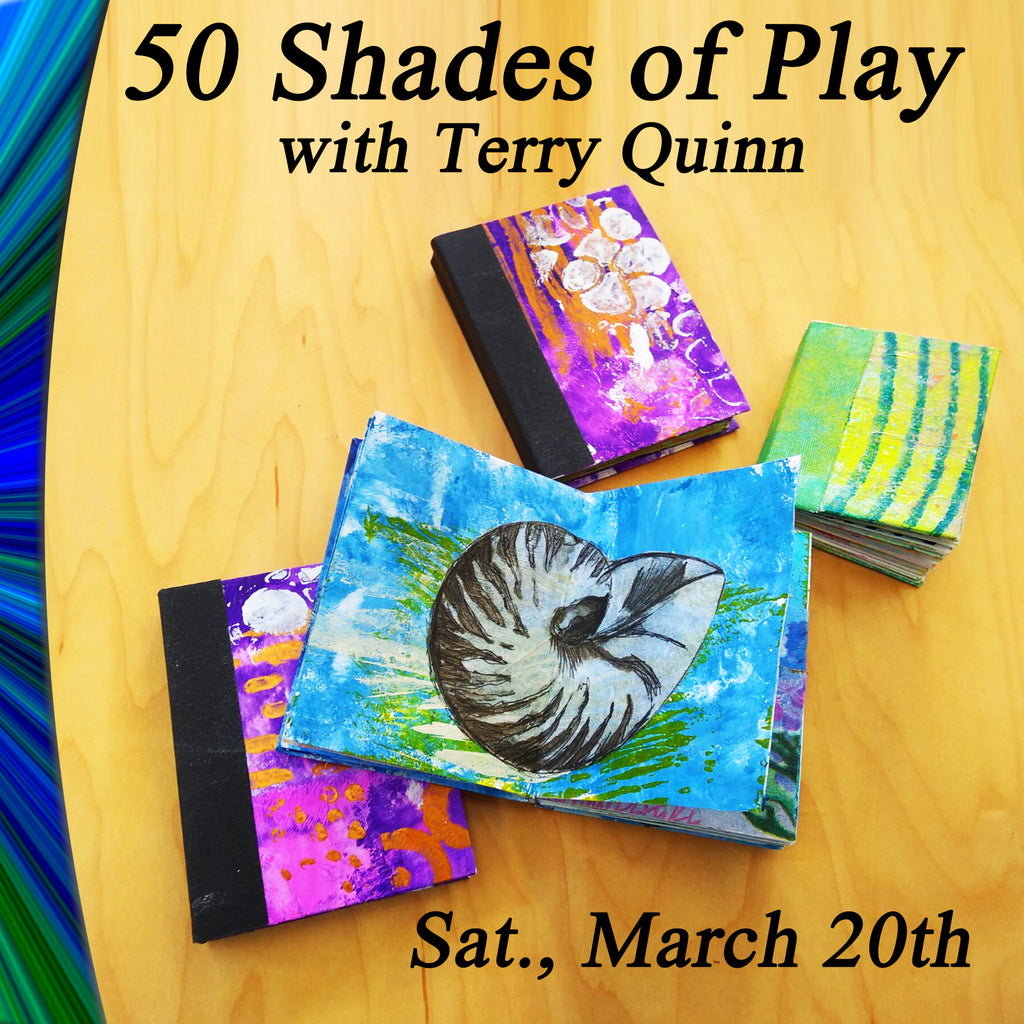 50 Shades of Play with Terry Quinn - Saturday, March 20th
