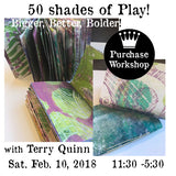 Workshop | 50 Shades of Play XXL- Bigger, Better, Bolder with Terry Quinn