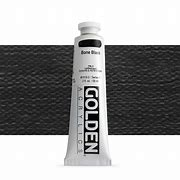Golden - Heavy Body Paint - 5oz. Tube - Bone Black