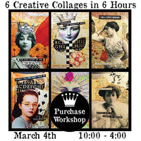 Workshop | Six Creative Collages in Six Hours