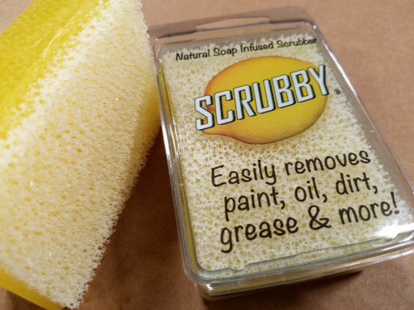 Scrubby Soap - Essential Oils Natural Soap Infused Scrubber