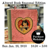 Workshop | Altered Book Seasonal Edition with Laura Hummel