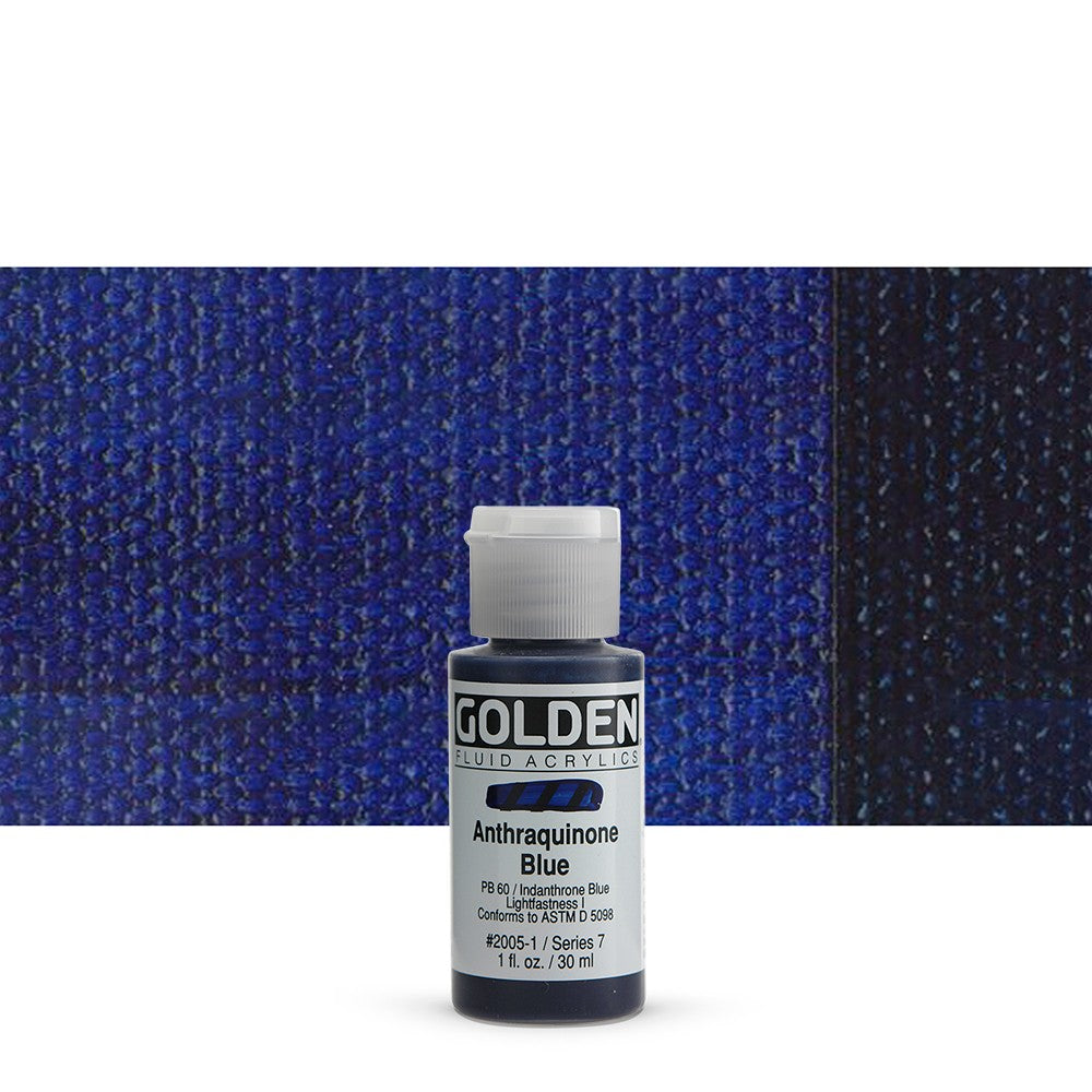 Golden - Fluid Acrylics - 1oz.