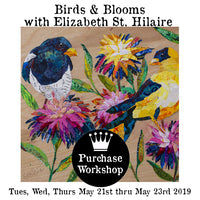 Workshop | Birds and Blooms with Elizabeth St. Hilaire