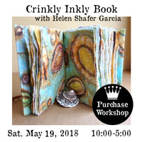 Workshop | Crinkly Inkly Book with Helen Shafer Garcia