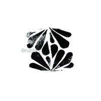 Elizabeth St. Hilaire | ES7326G - Tribal Tail - Rubber Art Stamp