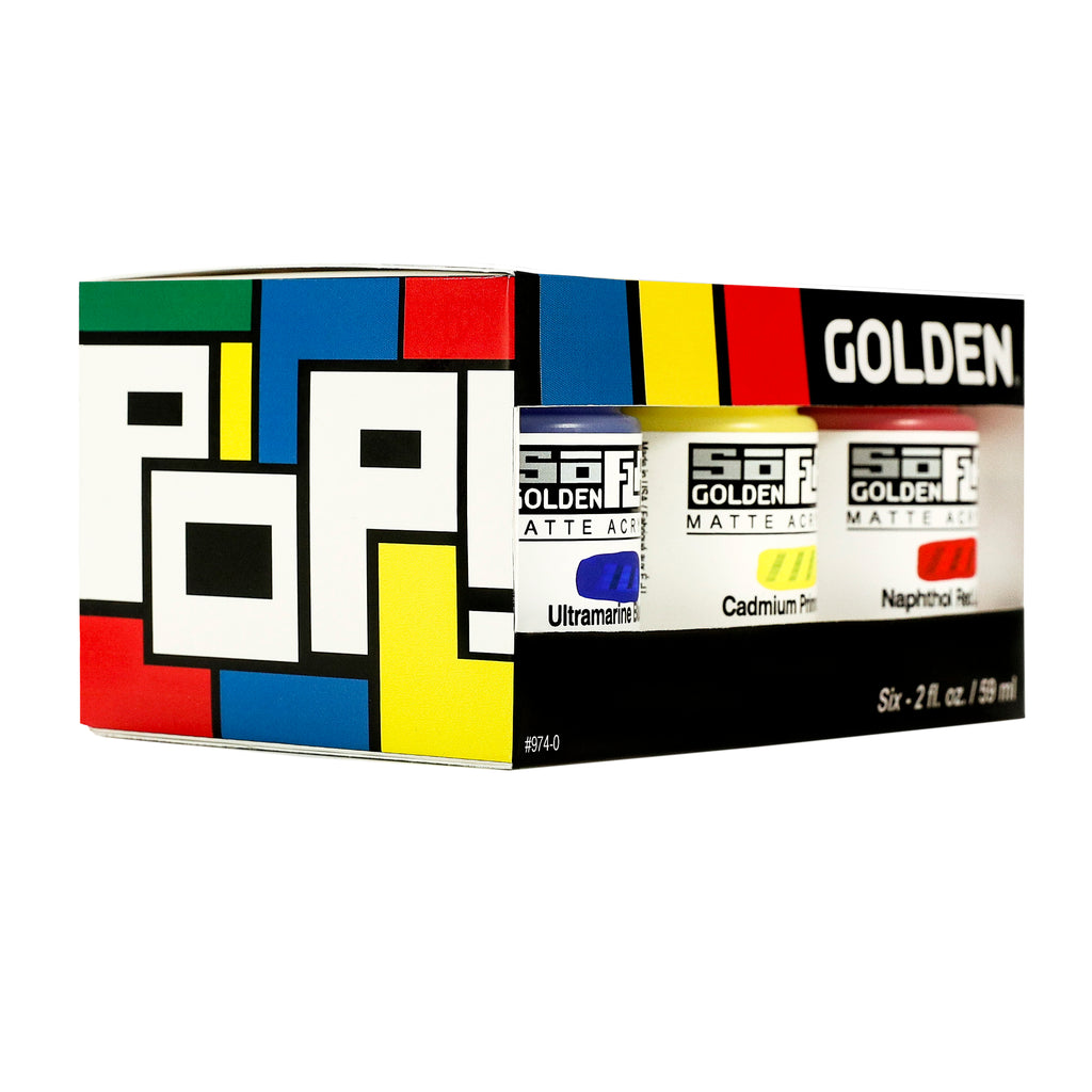 Golden - SoFlat Paint Sets of 6