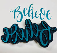 Gale Nation | Believe | Foam Stamp