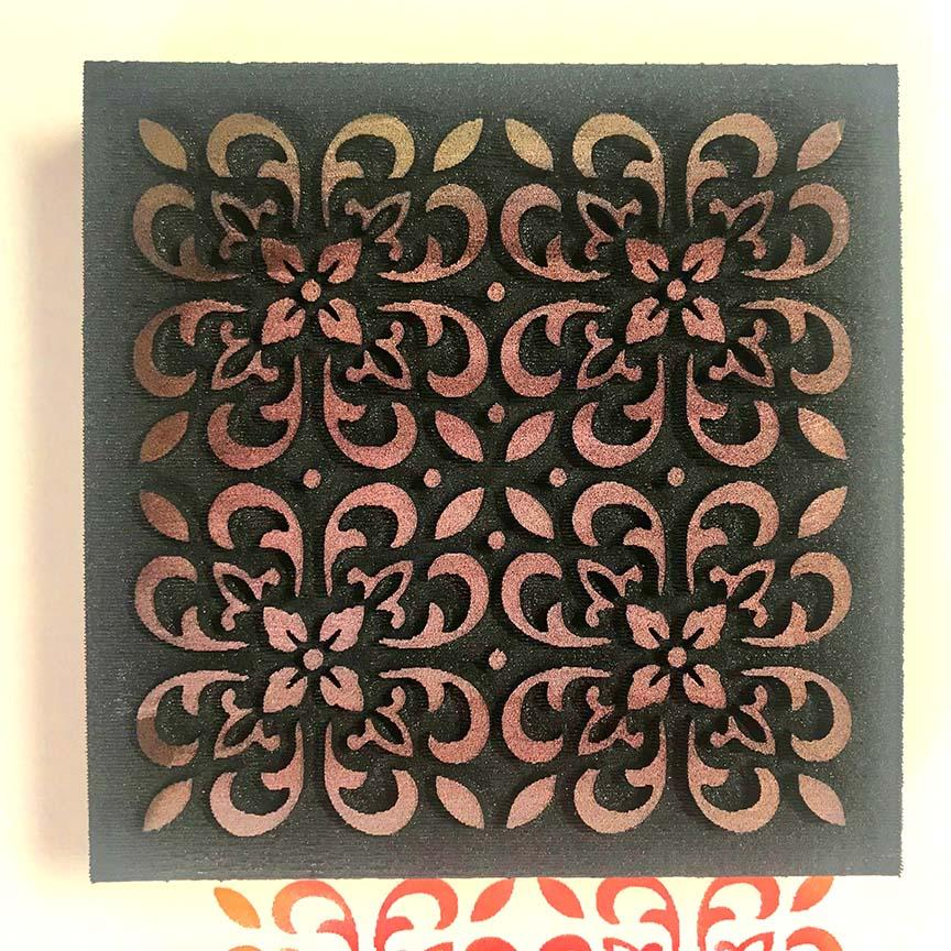 Gypsy Soul | Moroccan Tile | Foam Stamp