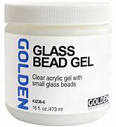 Golden - Glass Bead Gel