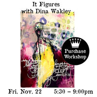 Workshop | It Figures with Dina Wakley