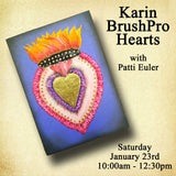 Karin BrushPRO Hearts with Patti Euler - Sat., January 23rd Morning