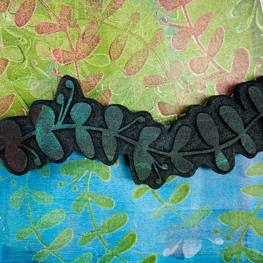 ArtFoamies - Gina Ahrens - Long and Leafy