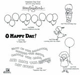 Mary Engelbreit | Happiest Day Ever Stamp Set