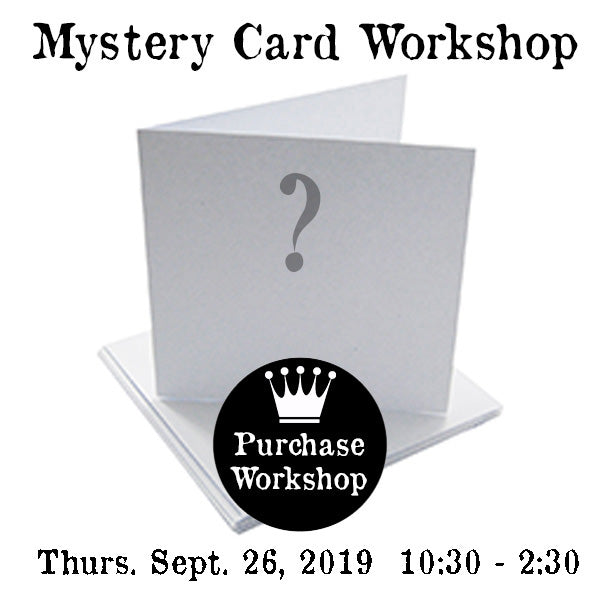 Workshop | Mystery Card Workshop