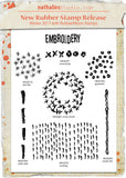 Nathalie Kalbach - NK1001S - Rubber Art Stamps