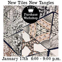 Workshop | New Tiles New Tangles: Tangle in the Triangle