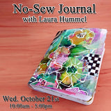 No-Sew Journal with Laura Hummel - Wed., October 21st